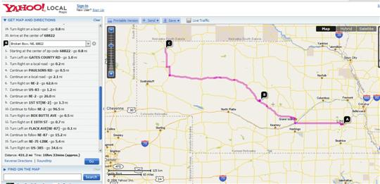 Nebraska Maps Interactive Printable Maps For Nebraska Road Trips - Roadmap of nebraska
