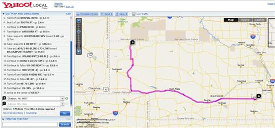 Map Yahoo Maps