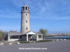 Nebraska Lighthouse at Lake Minatare