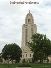 Tall Nebraska State Capitol Building - Popular Lincoln, NE Attraction