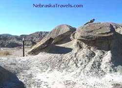 Toadstool Geologic Park - in Western Nebraska Badlands