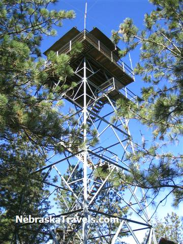 Halsey Nebraska National Forest Fire Lookout Tower - Nebraska Sandhills Travels