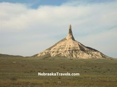 Chimney Rock - on Oregon Trail east of Scottsbluff