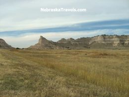 Scotts Bluff National Monument in Western Nebraska Panhandle